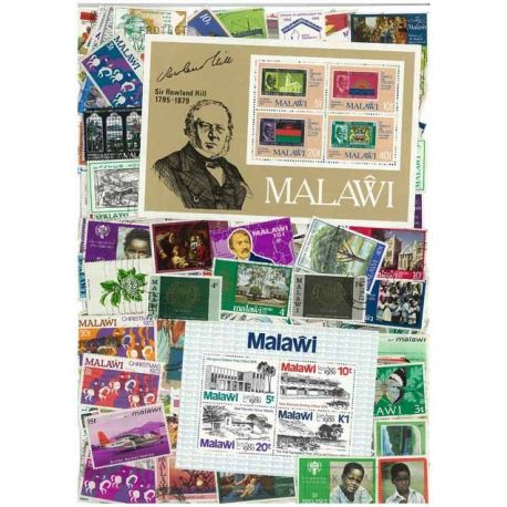 Collection de timbres Malawi oblitérés