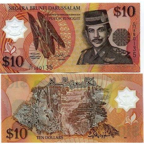 Brunei - Pk N° 24 - Billet de 10 Ringgit