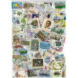 Sammlung gestempelter Briefmarken Maurice