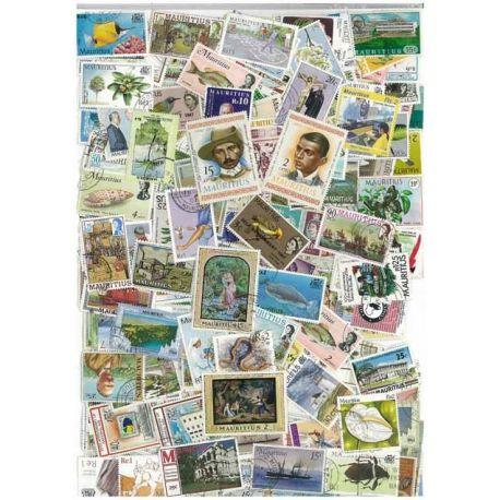 Maurice - 25 verschiedene Briefmarken