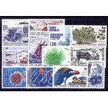 Briefmarke TAAF Année ganzes 1987 - neu ohne Scharnier