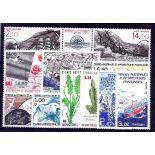 Briefmarke TAAF Année ganzes 1986 - neu ohne Scharnier
