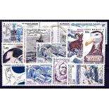 Briefmarke TAAF Année ganzes 1985 - neu ohne Scharnier