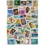 Sammlung gestempelter Briefmarken Mauretanien