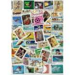 Used stamp collection Mauritania