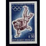 Frankreich: N ° 1428 - ungezähnte Postfrisch