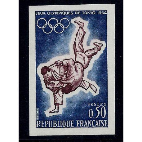 France : N° 1428 - Non dentelés - **