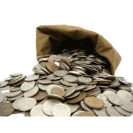 1 kilo de pièces de France à trier
