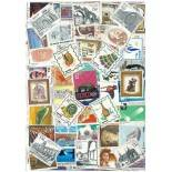 Used stamp collection Mexico