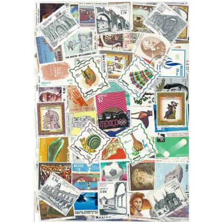 Mexico - 50 different stamps