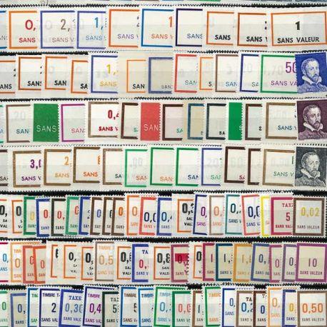 Collection de timbres France Fictifs
