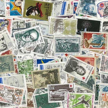 Collection de timbres France oblitérés Surtaxes