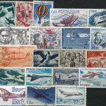 Collection de timbres France oblitérés Poste Aerienne
