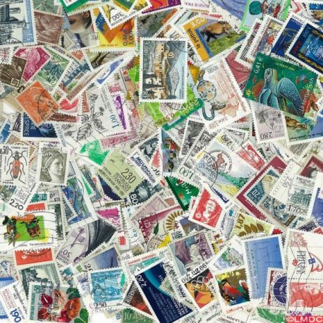 Collection de timbres France oblitérés