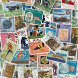 Colección de sellos América usados
