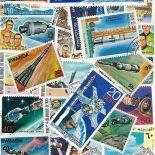 Collezione di francobolli Apollo cancellati