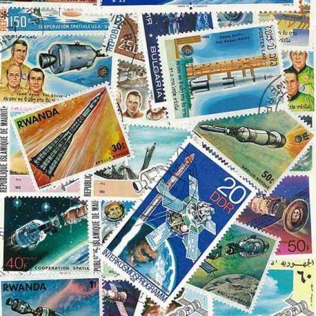 Apollo: 100 verschiedene Briefmarken