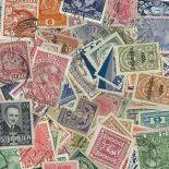 Sammlung gestempelter Briefmarken Österreich vor 38