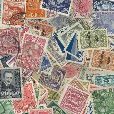 Collection de timbres Autriche Avant 38 oblitérés