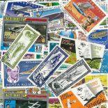 Collection de timbres Aviateurs oblitérés