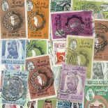 Bahrain-Sammlung gestempelter Briefmarken