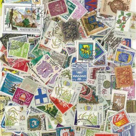 Wappen: 100 verschiedene Briefmarken