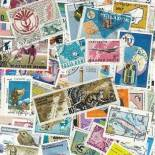 Used stamp collection Cartography