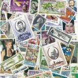 Collection de timbres Celebrites oblitérés