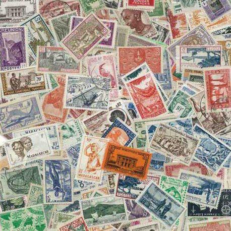 Collection de timbres Colonies Rf Avant Independance oblitérés