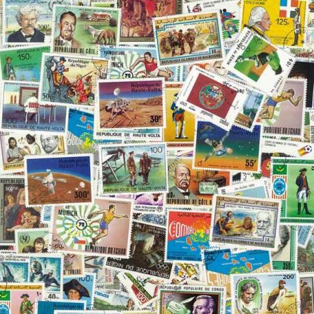 Collection de timbres Communaute Rf Series oblitérés