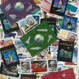 Gestempelte Briefmarkenensammlung Weltall