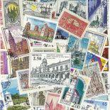 Sammlung gestempelter Briefmarken Kirchen