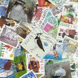 Sammlung gestempelter Briefmarken Estland
