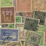 Used stamp collection Haiderebad