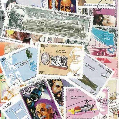 Erfinder: 25 verschiedene Briefmarken