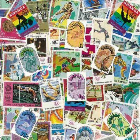 ABL Montreal Ete: 100 verschiedene Briefmarken