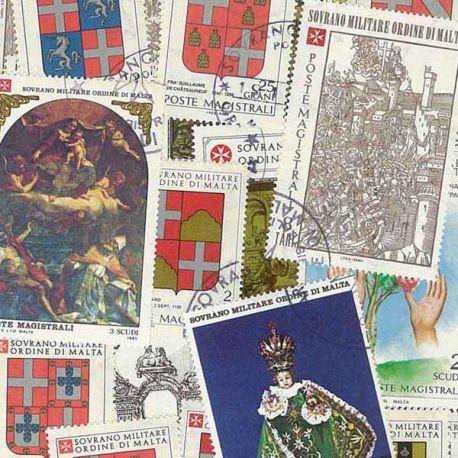 Collection de timbres Malte Ordre oblitérés