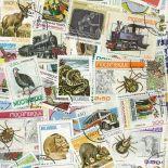 Sammlung gestempelter Briefmarken Mosambik