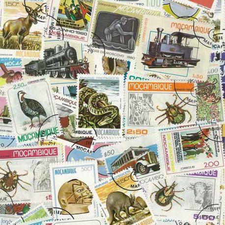 Mosambik - 50 verschiedene Briefmarken