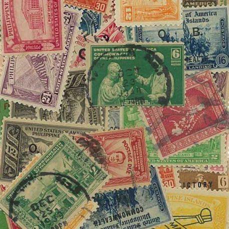 Philippinen Us Verwaltung - 50 verschiedene Briefmarken