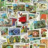 Collection de timbres Scoutisme oblitérés