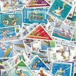 Colección de sellos Deportes náuticos usados