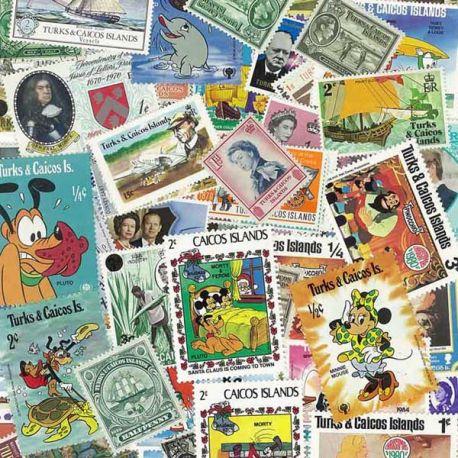 Turcks Et Caiques - 25 timbres différents
