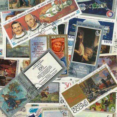 UdSSR - 100 verschiedene Briefmarken