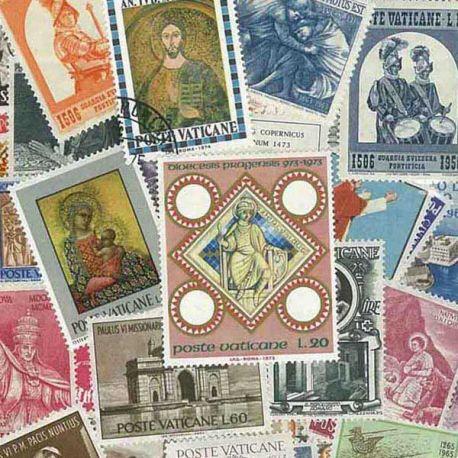 Collection de timbres Vatican oblitérés