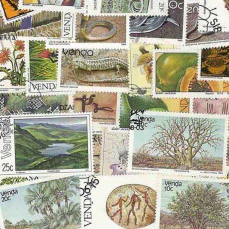 Venda - 10 timbres différents