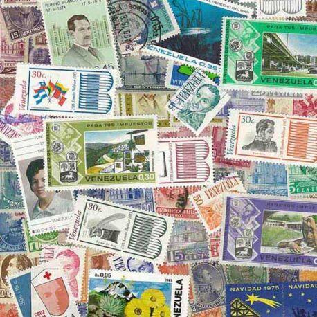 Venezuela - 50 timbres différents