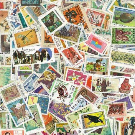 Vietnam - 100 timbres différents