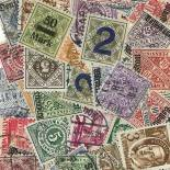 Used stamp collection Wurtemberg