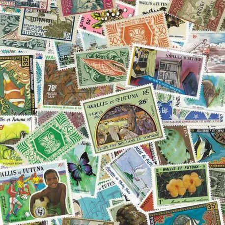 Collection de timbres Wallis Et Futuna oblitérés